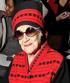 Zelda Kaplan, the 95 year old New York City socialite and philanthropist