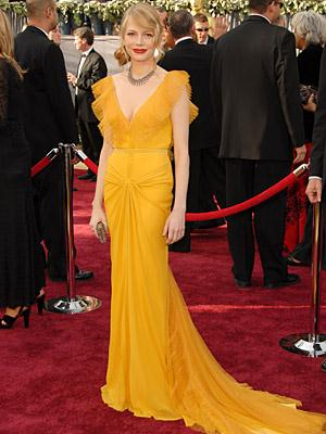 Oscar Dress of Michelle Williams