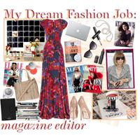 Fashion magazine editor