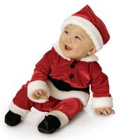 Santa toddler christmas costume